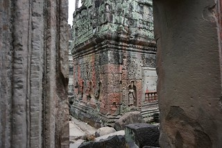 Wandering through a temple