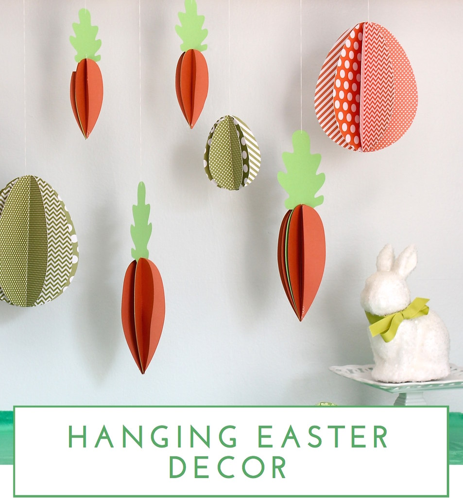 Hanging Easter Decor - The Homes I Have Made