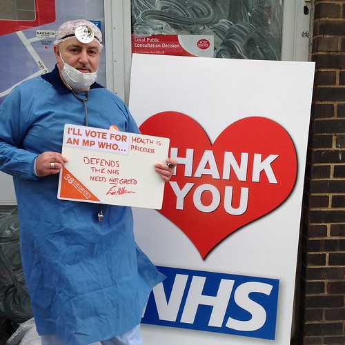 NHS campaigning - Finchley and Golders Green