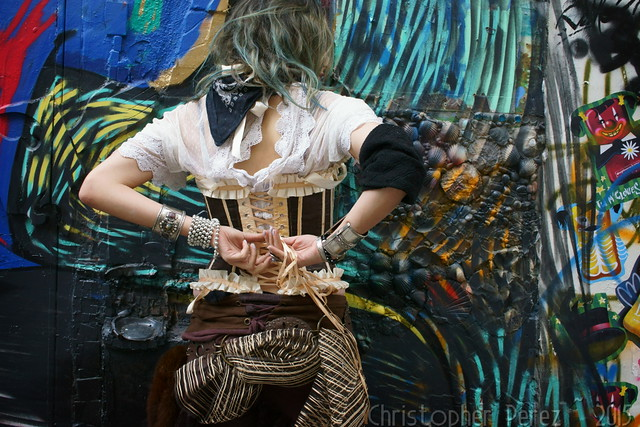Pirate Graff ~ Lou Cat