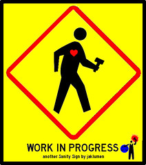 Sanity Street Sign Series: Work In Progress