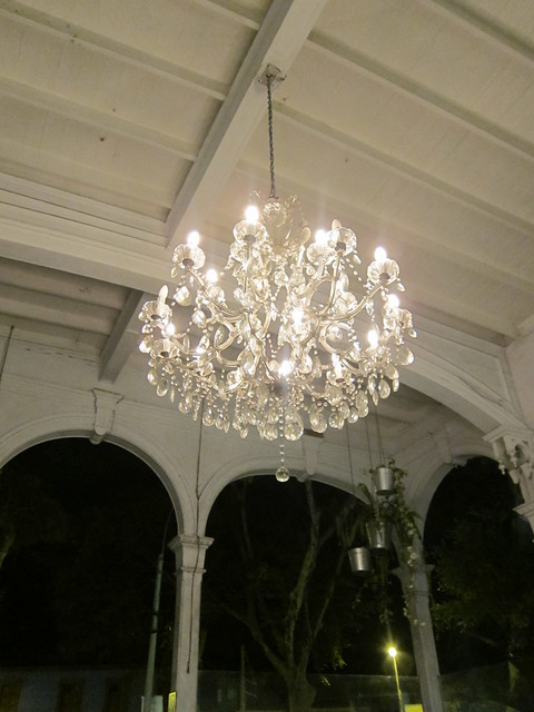 Antique Chandalier at ??? in Barranco