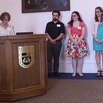 Mike Godinez, Margaret Kelly, Adelle Weber; Interdisciplinary Honors