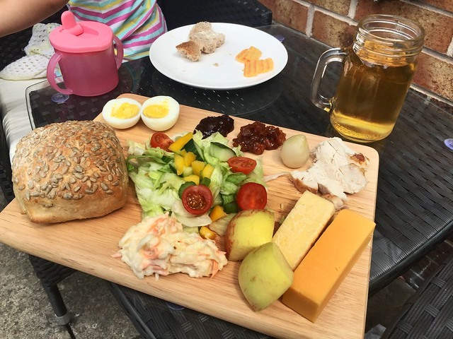 Good old Ploughmans lunch