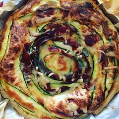 #quiche speck e zucchine pronta #splendidamagia ✨⭐️✨ #instafood #tortasalata #speck #zucchine #cucinaitaliana #foodstyling #foodstagram #foodstyle #buonadomenica #cucinare #ricetteperpassione #cucinareperglialtri #baked #chezuppa #f