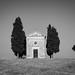 Chapelle Vitaleta en Toscane