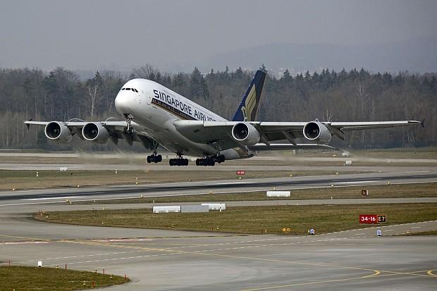 160716 シンガポール航空A380