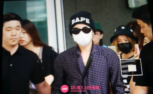 G-Dragon Arrival Seoul from Paris 2015-07-09 014