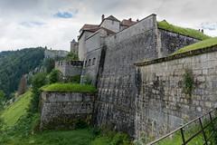 Fort de Joux, Doubs, France