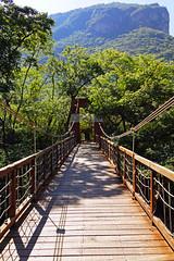Suspension bridge of Sumidero Ecotourism Park