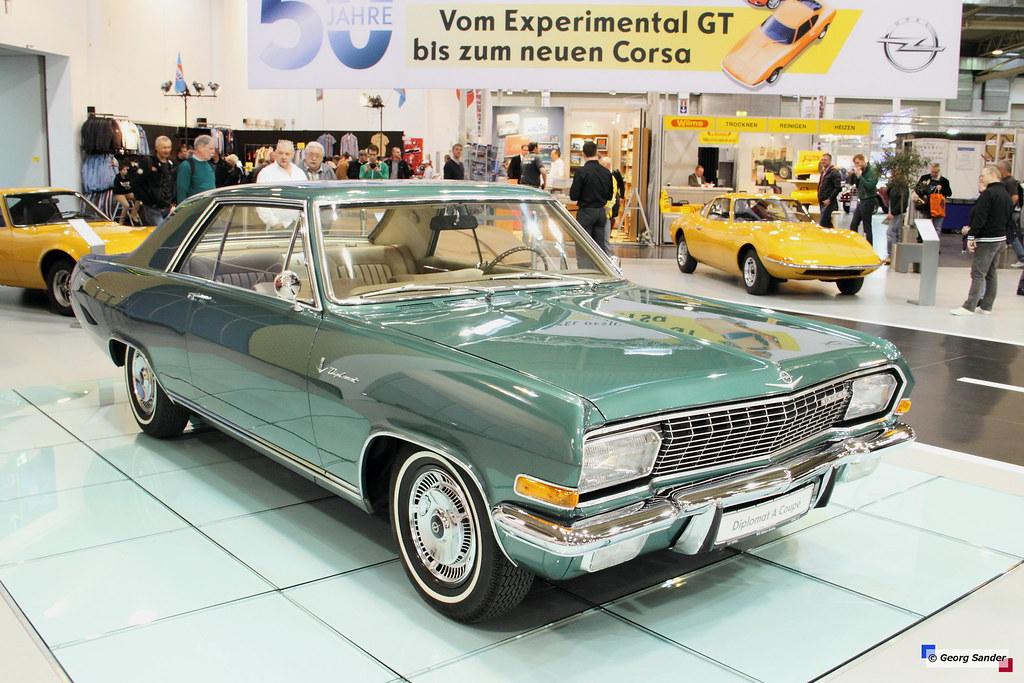 1965 - 1967 Opel Diplomat A Coupé