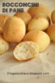 Bocconcini di pane senza glutine