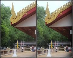 Songkran, Wat Buddhavas, Houston, Texas 2015.04.12