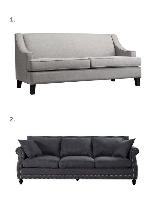 Loveseat for small apartment trendy small apartment for Affordable furniture for first apartment