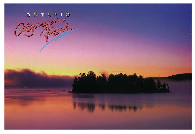 Ontario - Algonquin park - Sunrise