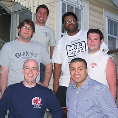 #tbt ten years ago, for an impromptu reunion with the fellas during my break from grad school and revisit to the U.S. While living in Farnham. In all modesty, I don't think we look _that_ different after all this time. But let's see what the next ten year