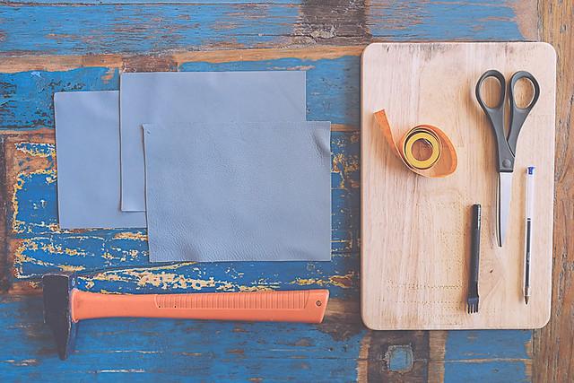 DIY une boîte à bijoux en cuir pour Luma jewels
