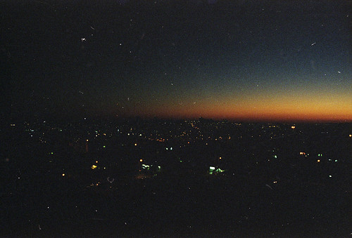 sunset urban color film night analog dark lights noche israel nikon long exposure view kodak jerusalem grain paisaje urbano jerusalen oscuro f60 ultramax