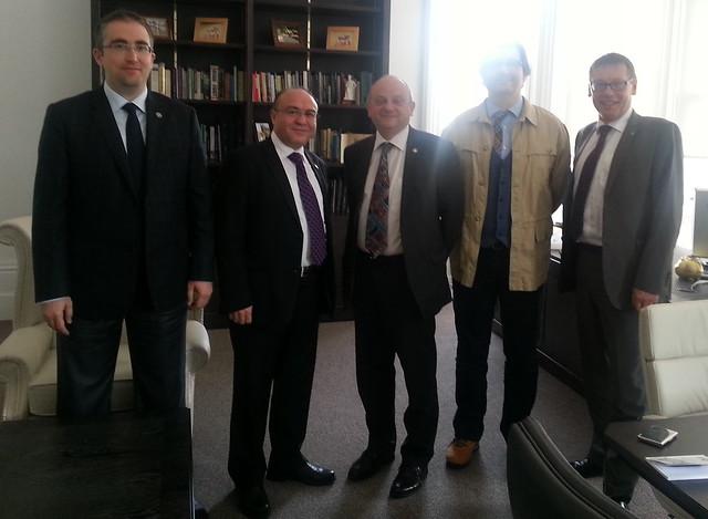 Üsküdar Üniversitesi İşbirliği için Nottingham Trent Üniversitesi'ni gezdi 2