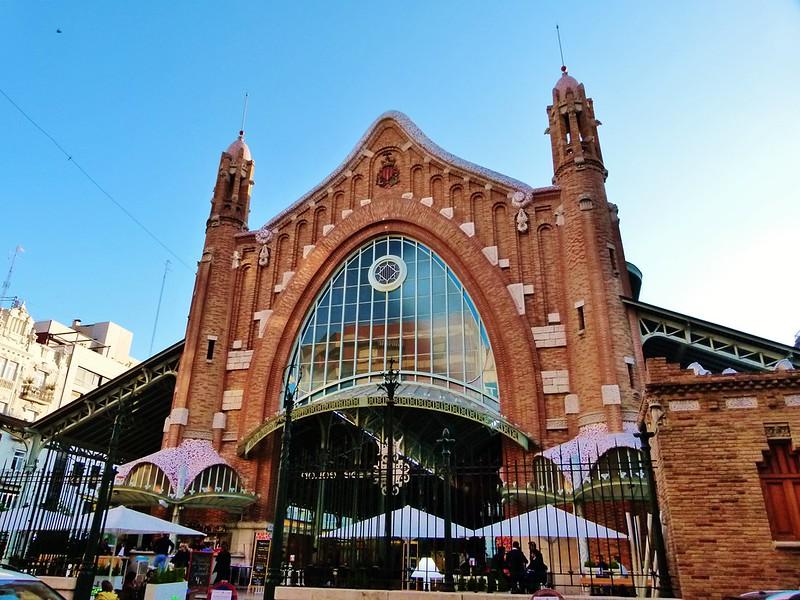 Mercado de Colón, obra de Francisco Mora - Valencia