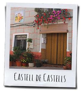 Het authentieke dorp Castell de Castells