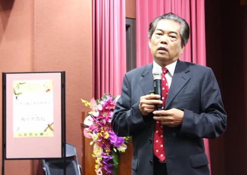 台大昆蟲學系教授楊平世即將於7月31日退休。攝影:廖靜蕙。
