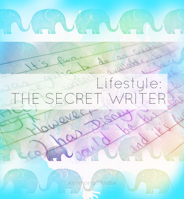Lifestyle: THE SECRET WRITER 1