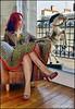 La robe léopard. by gérard lavalette