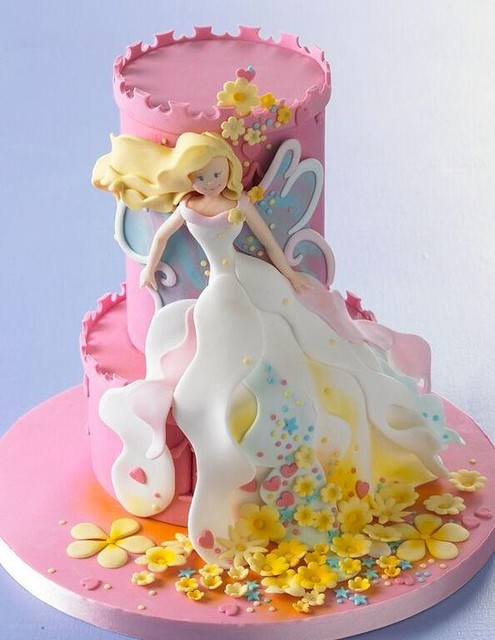 Cake Fairy by Janine Coetser