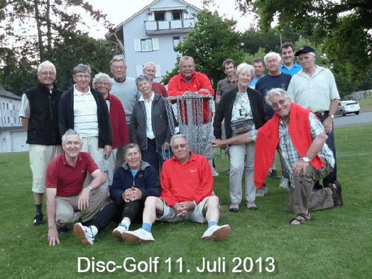 Disc - Golf 2013