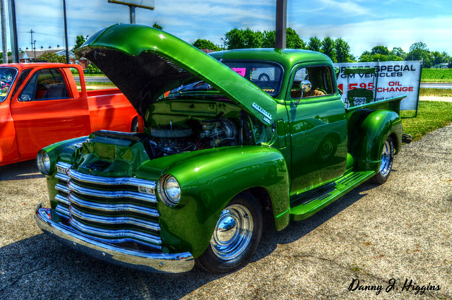 Father's Day Car Show.  Princeton, Illinois.     032