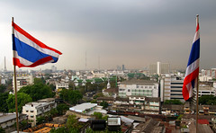 A Bangkok Skyline.