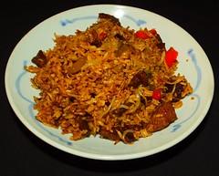 Bison Sirloin Steak Fried Rice