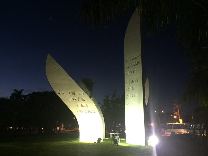 Monumento en SM 4