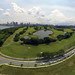360° Kite Aerial View of Marina East, Singapore