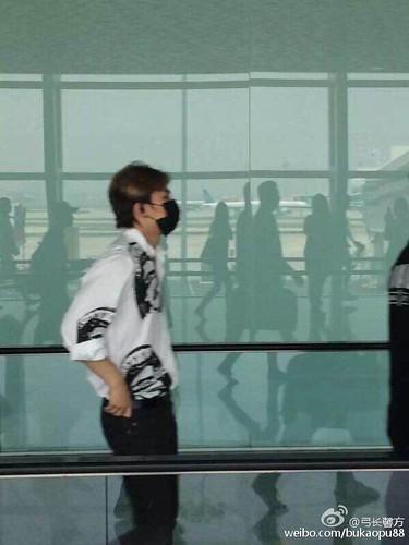 BIGBANG lArrival Shenzhen from Seoul 2015-08-07 031