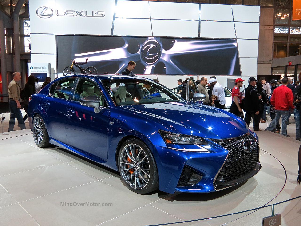 NYIAS 2015 Lexus GS-F