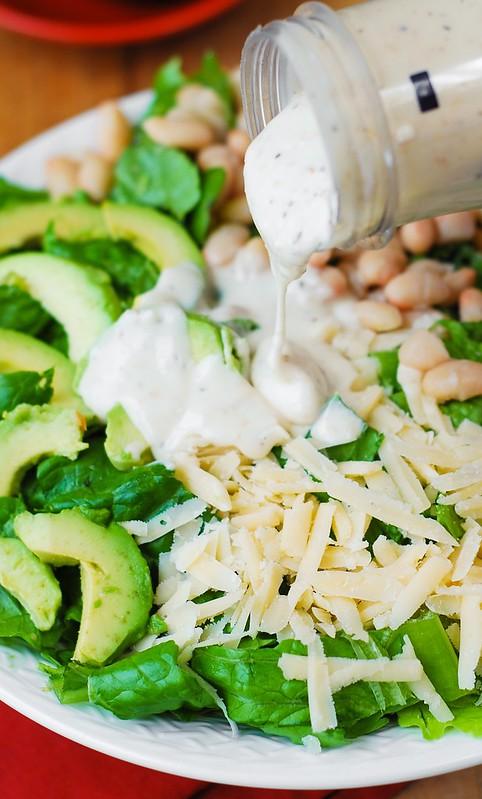 gluten free Caesar salad, gluten free salads, gluten free appetizers