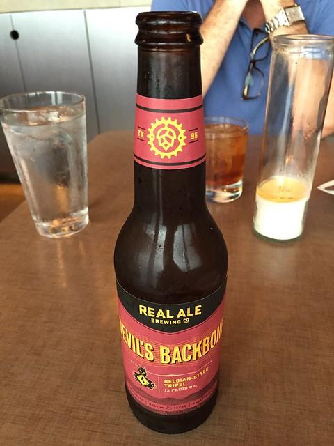Devil's Backbone beer - The Monterey