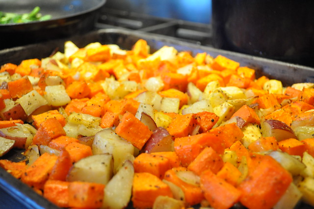Rustic Roasted Root Vegetables