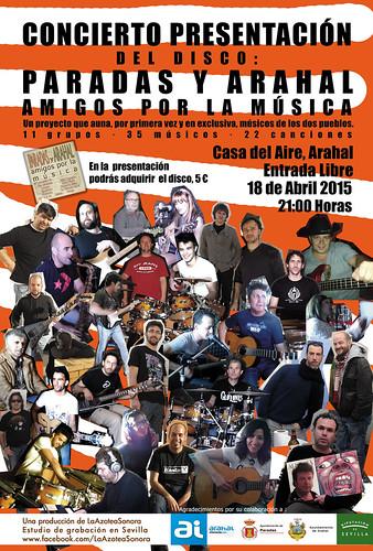 AionSur 17086545941_3ce48f4260_d 11 grupos de música de Arahal y Paradas presentan un disco el 18 en la Casa del Aire Agenda Cultura