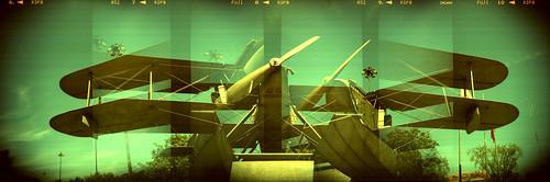 biplane monument