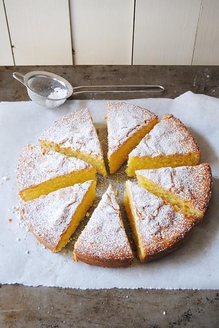Sablé Cake