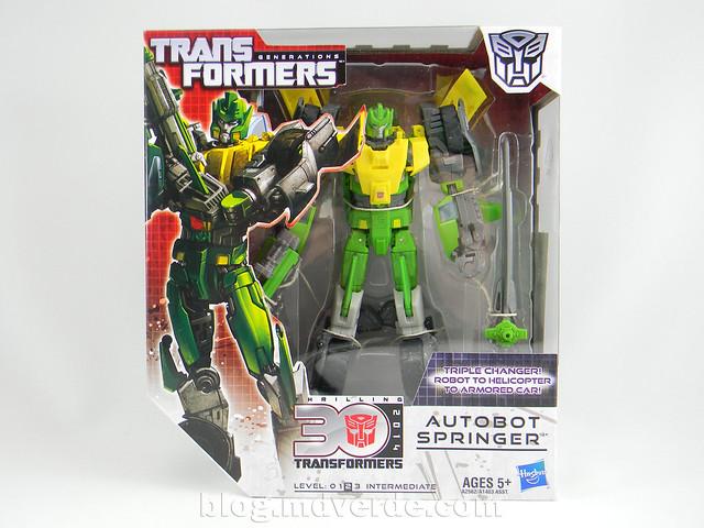 Transformers Springer Voyager - Generations - caja