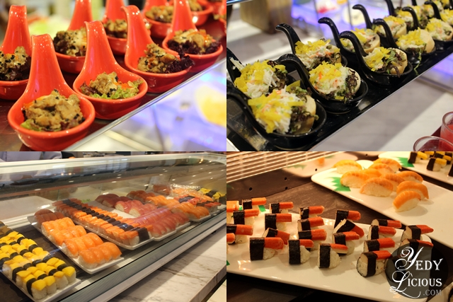 Japanese Section at Four Seasons Buffet HotPot City SM MOA