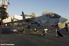 147030 NE-461 - US Navy - Vought F-8K Crusader - USS Midway Museum San Diego, California - 141223 - Steven Gray - IMG_6743