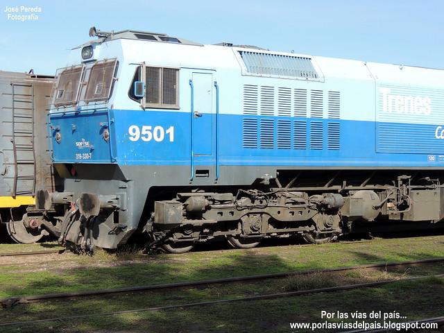 GM J26CW 319.330-7 (9501) EN ESTACIÓN RUFINO...