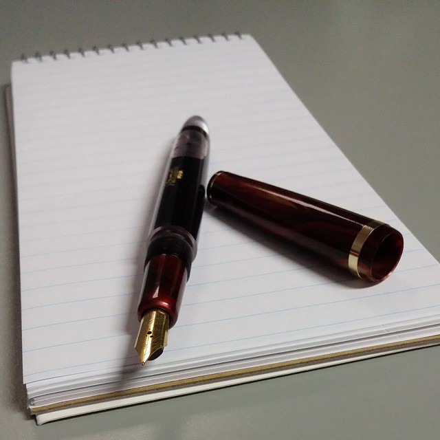 Airmail 444 eyedropper   #FountainPen