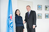 Malcolm Johnson meets with Ms. Angela Tay, Singapore Observer to Council-15