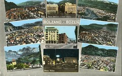 bolzano - postcard - vedutine